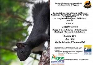 Lo scoiattolo meridionale nel Parco Nazionale Appennino Lucano Val d'Agri Lagonegrese: un pregiato endemismo dal futuro incerto